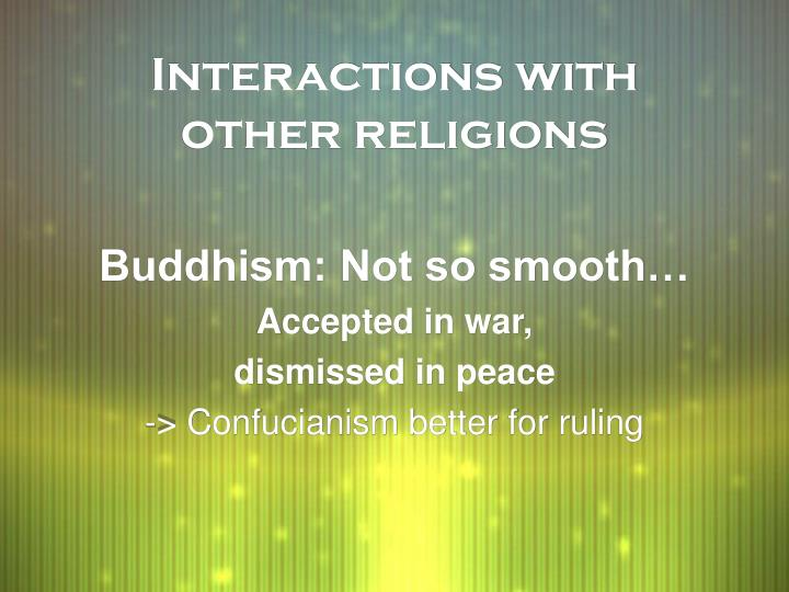 Interactions with other religions