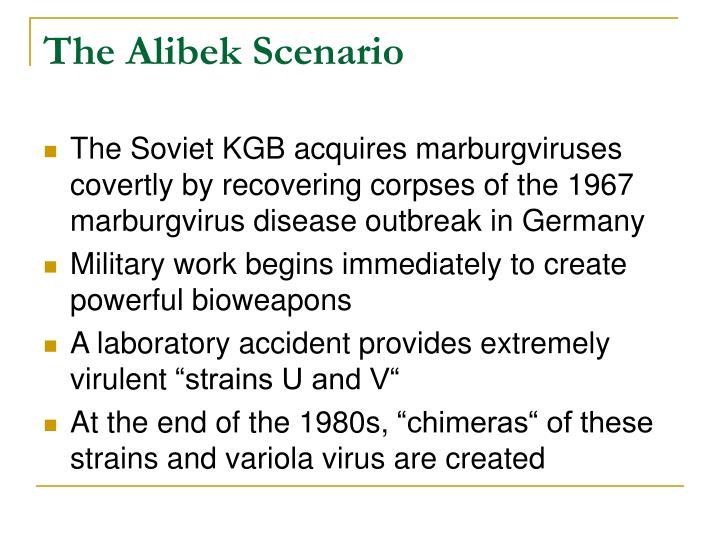 The Alibek Scenario