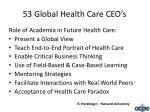 53 global health care ceo s1
