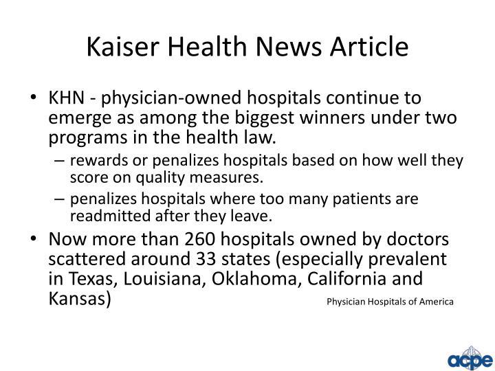 Kaiser Health