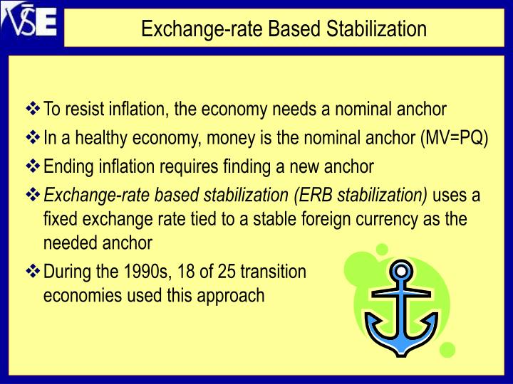 Exchange-rate Based Stabilization