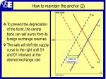how to maintain the anchor 2