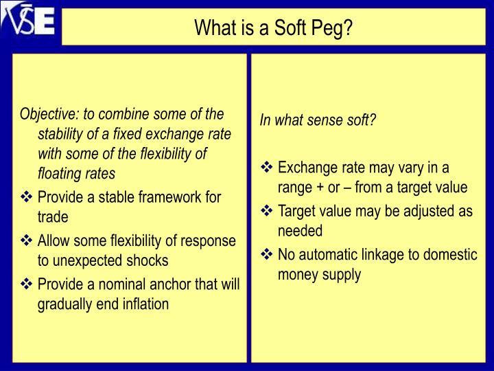 In what sense soft?