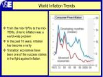 world inflation trends