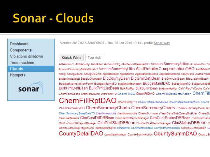 Sonar - Clouds