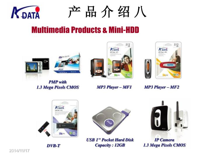 Multimedia Products & Mini-HDD