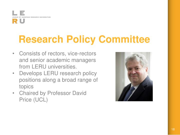 Research Policy Committee