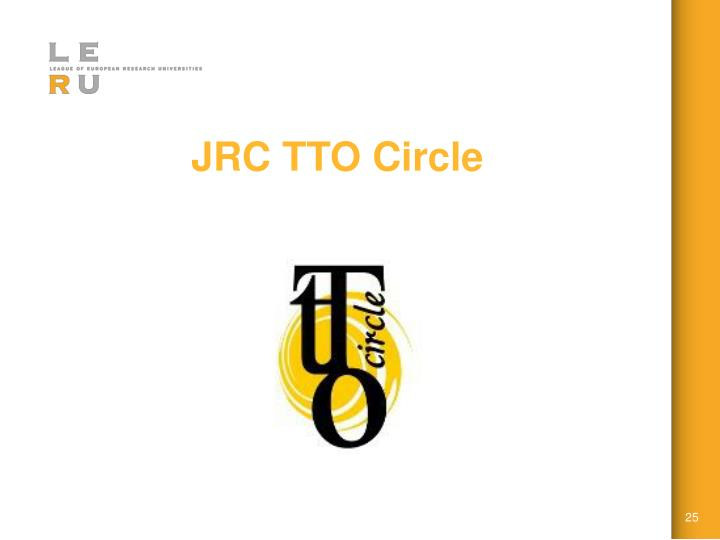 JRC TTO