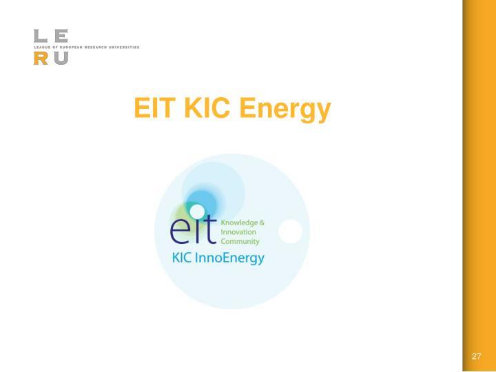 EIT KIC Energy