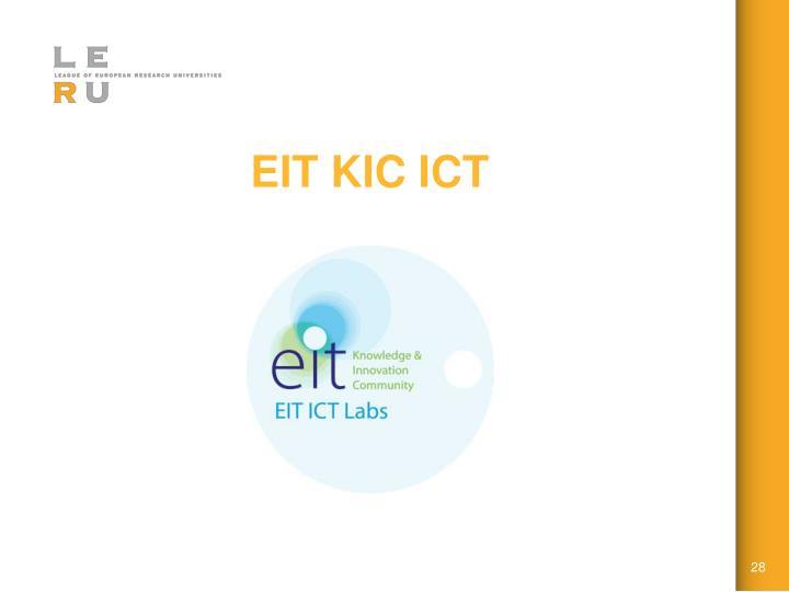 EIT KIC ICT