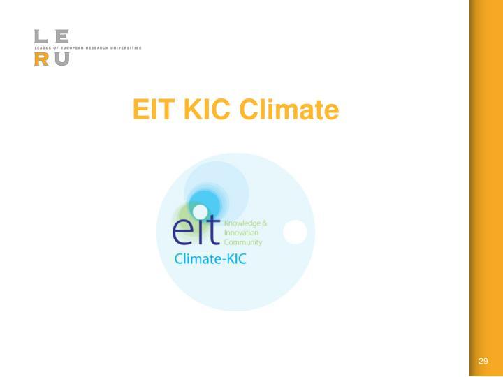 EIT KIC