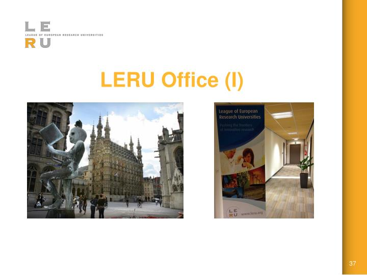 LERU Office (I)