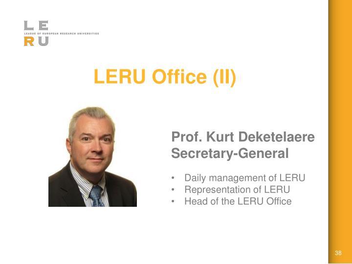 LERU Office (II)