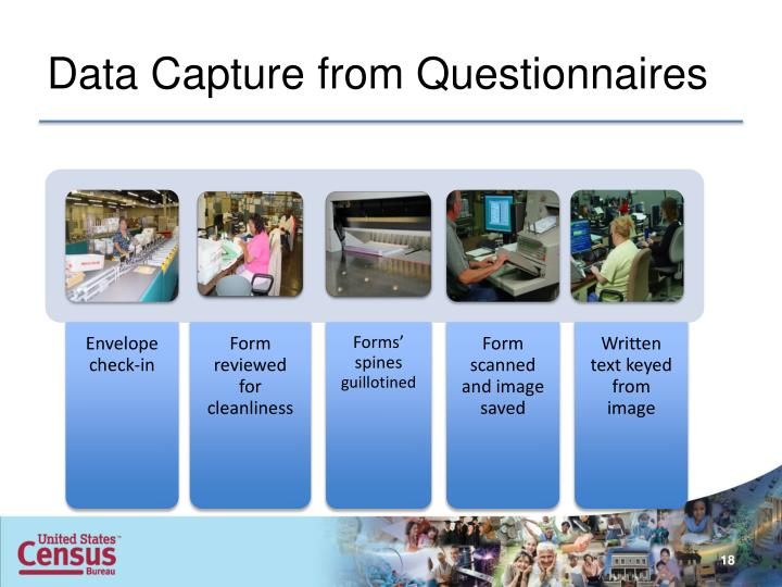 Data Capture from Questionnaires