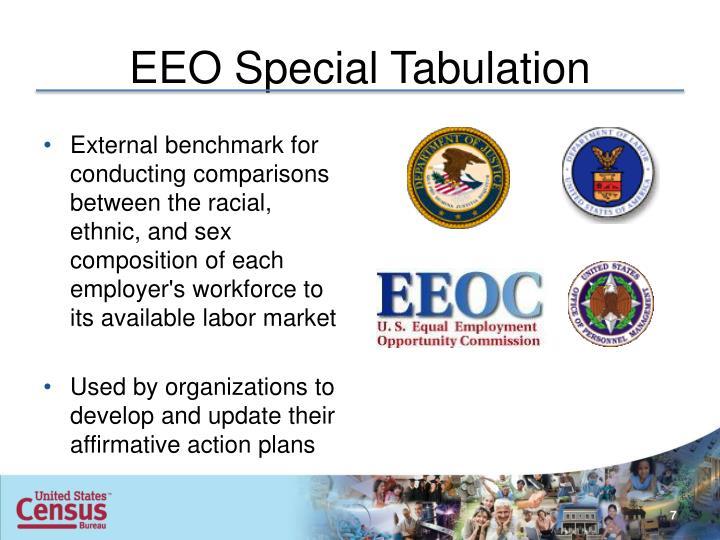 EEO Special Tabulation