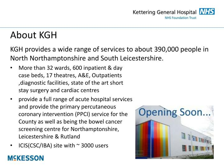 About kgh