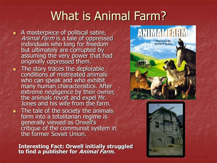 What is Animal Farm?