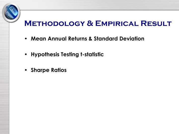 Methodology & Empirical Result
