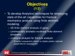 objectives 1 2