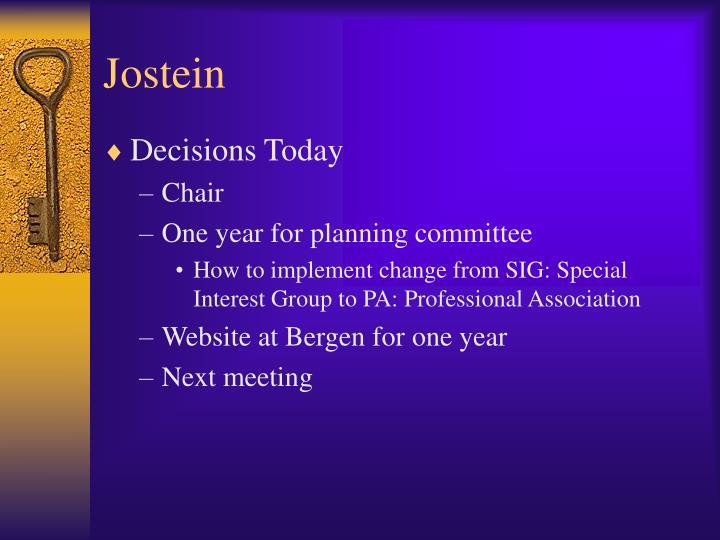 Jostein