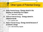 vi other types of potential energy