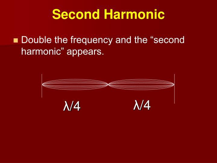 Second Harmonic