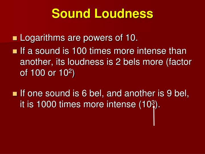 Sound Loudness