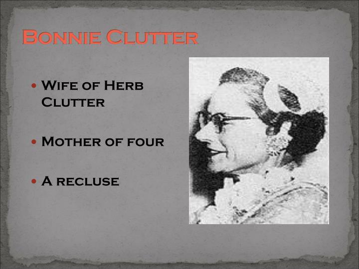Bonnie Clutter