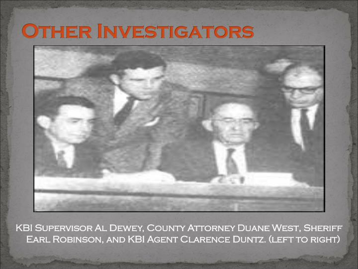 Other Investigators