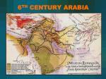 6 th century arabia
