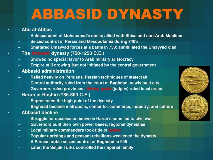 ABBASID DYNASTY