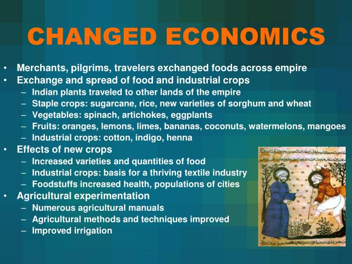 CHANGED ECONOMICS