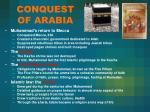 conquest of arabia