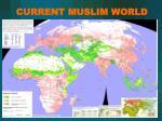 current muslim world