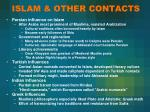 islam other contacts