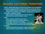 islamic cultural tradition