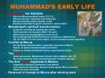 muhammad s early life