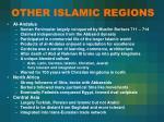 other islamic regions
