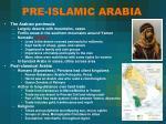 pre islamic arabia