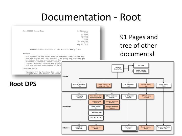 Documentation - Root
