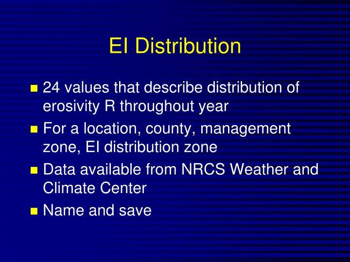 EI Distribution