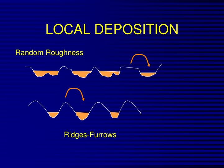 LOCAL DEPOSITION