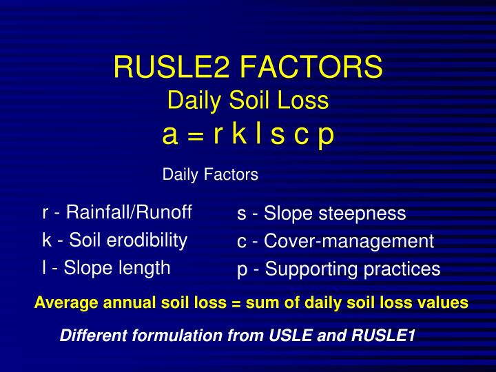r - Rainfall/Runoff