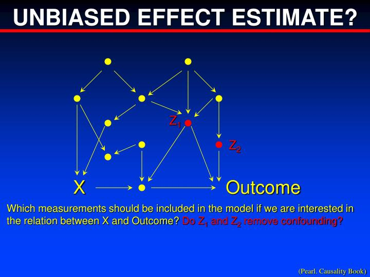 UNBIASED EFFECT ESTIMATE?