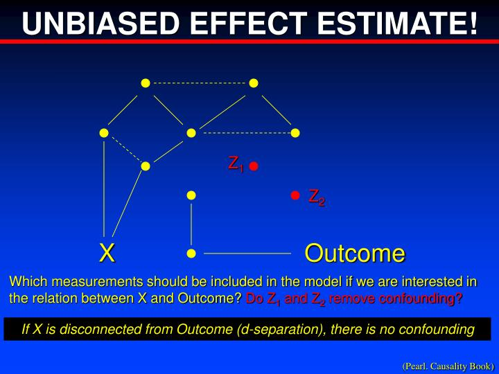 UNBIASED EFFECT ESTIMATE!
