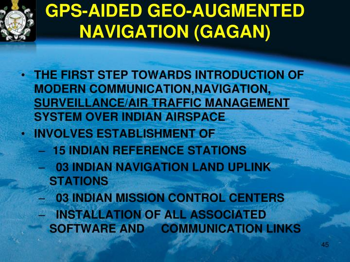 THE FIRST STEP TOWARDS INTRODUCTION OF MODERN COMMUNICATION,NAVIGATION,
