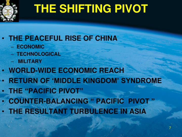 THE SHIFTING PIVOT