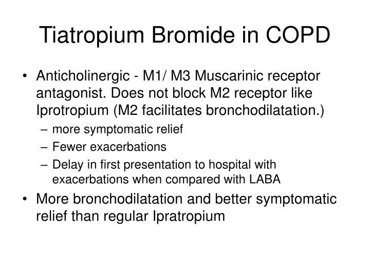 Tiatropium Bromide in COPD