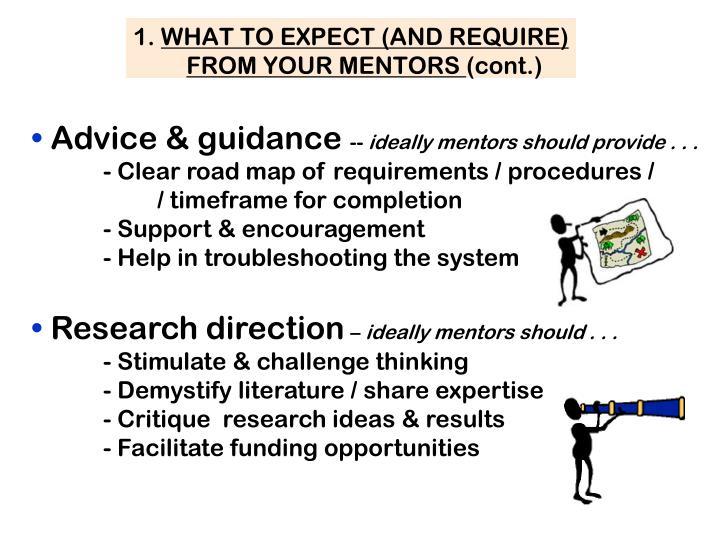 Advice & guidance