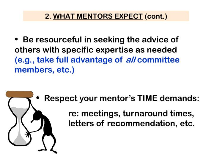 Be resourceful in seeking the advice of others with specific expertise as needed